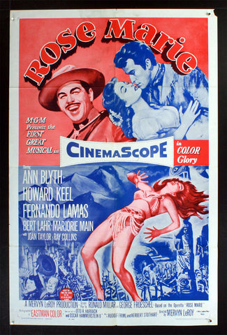 Rose Marie (R62) (1954) US One Sheet Movie Poster