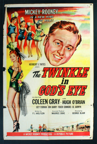 Twinkle in God's Eye (1955) US One Sheet Movie Poster