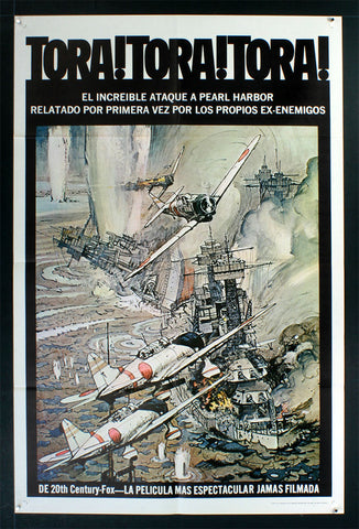 Tora Tora Tora (1970) Spanish Language US One Sheet
