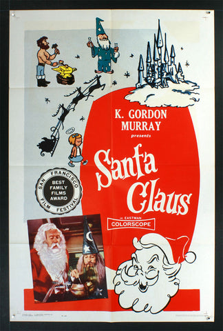 Santa Claus (1960) US One Sheet [Dubbed version of 1959 film]