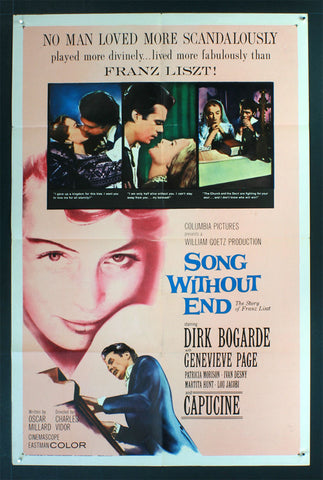 Song Without End (1960) US One Sheet [Dupe 2]