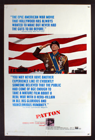 Patton (1970) US One Sheet