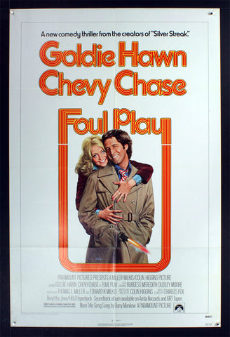 Foul Play (1978) US One Sheet [White Style]