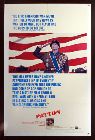 Patton (1970) US One Sheet [Dupe]