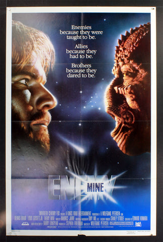 Enemy Mine (1985) US One Sheet