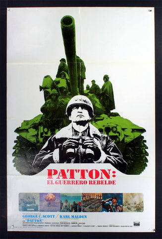 Patton (1970) Spanish Language US One Sheet