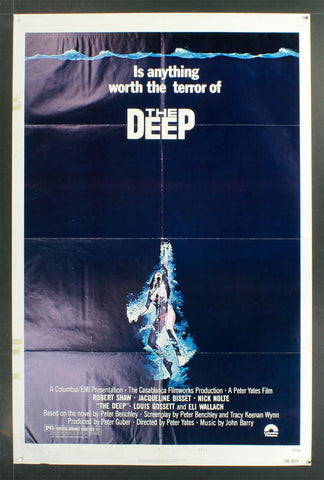 The Deep (1977) US One Sheet [Style B]