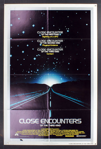 Close Encounters of the Third Kind (1977) US One Sheet