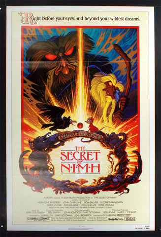 Secret of Nimh, The (1982) US One Sheet