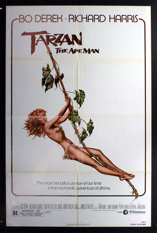 Tarzan, The Apeman (1981) US One Sheet