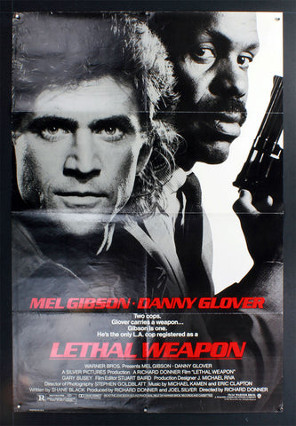 Leathal Weapon (1987) US One Sheet
