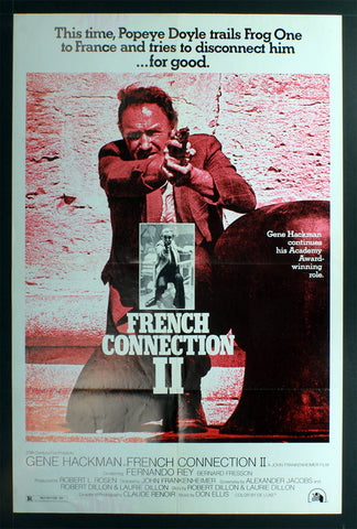 French Connection II (1975) US One Sheet