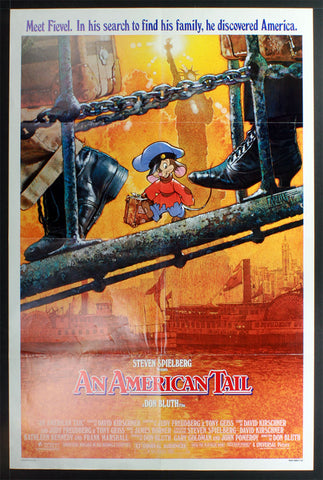 An American Tail (1986) US One Sheet