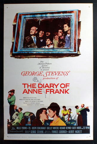 Diary of Anne Frank (1959) US One Sheet
