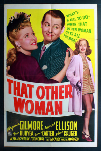 That Other Woman (1942) US One Sheet