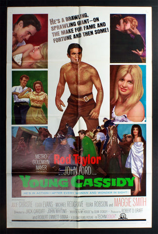 Young Cassidy (1965) US One Sheet