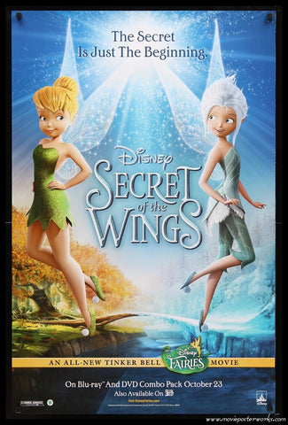Secret of the Wings (2012) Video US One Sheet