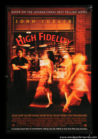 High Fidelity (2000) International One Sheet