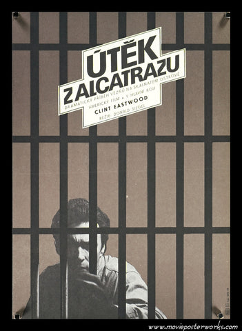 Escape from Alcatraz (1979) Czech Small