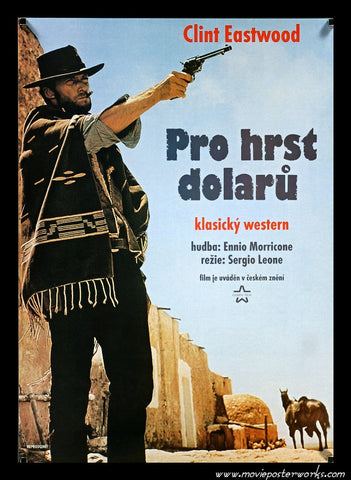 Fistful of Dollars [The Man with No Name] (1964/R-1990) Czech Small