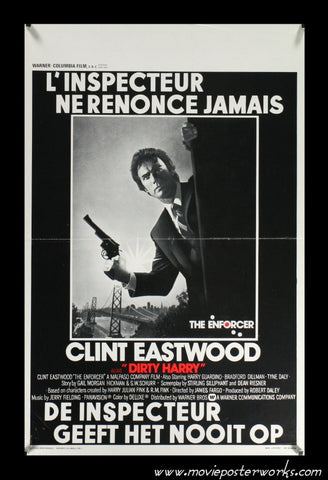 Enforcer [Dirty Harry] (1976) Belgian