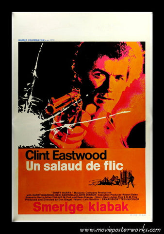 Dirty Harry (1971) Belgian