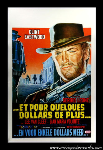 For a Few Dollars More [The Man With No Name] (1965/R-70s) Belgian