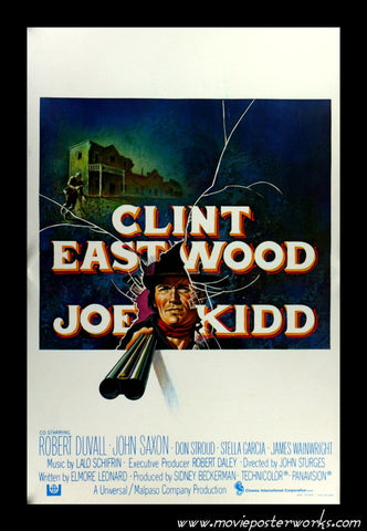 Joe Kidd (1972) Belgian