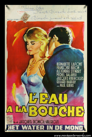 L'eau à la bouche [A Game for Six Lovers] (1960) Belgian