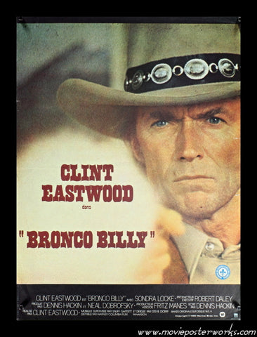 Bronco Billy (1980) French Petite