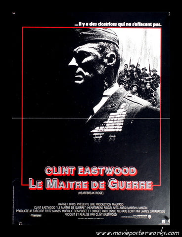 Heartbreak Ridge (1986) French Petite