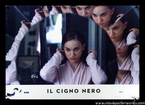 Black Swan (2010) Italian Photobusta (Mirror)