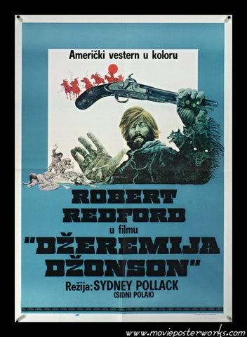 Jeremiah Johnson (1972) Yugo Movie Poster
