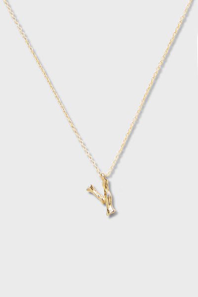 Y - Initial Necklace