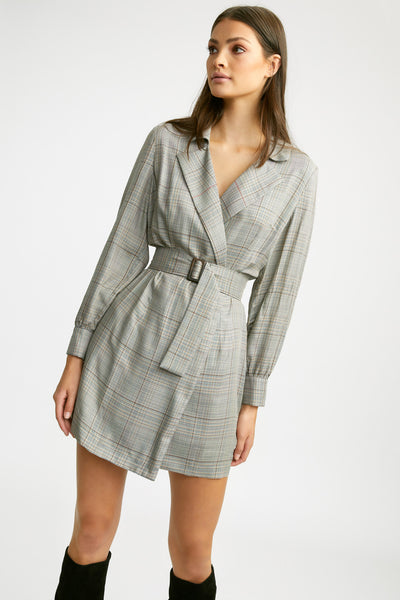 Harrison Check Dress