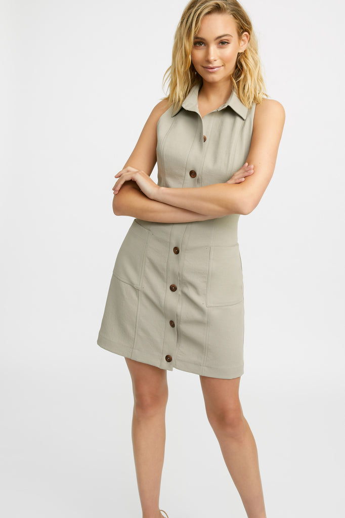 Oyster Utility Dress