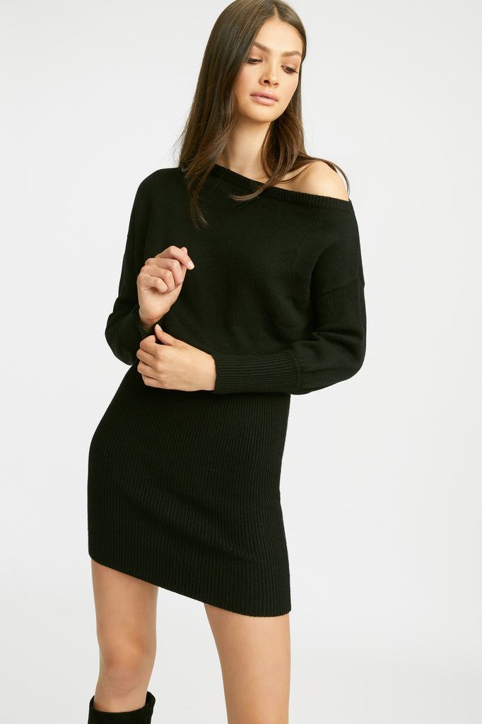 Autumn Off Shoulder Dress