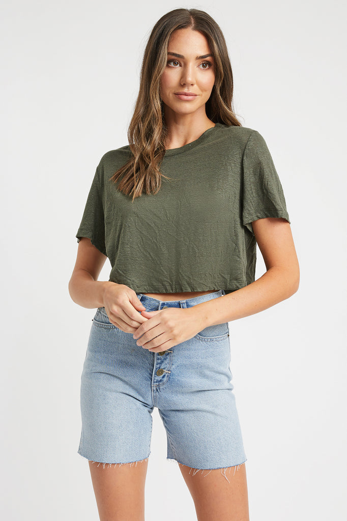 Arabella Cropped Tee