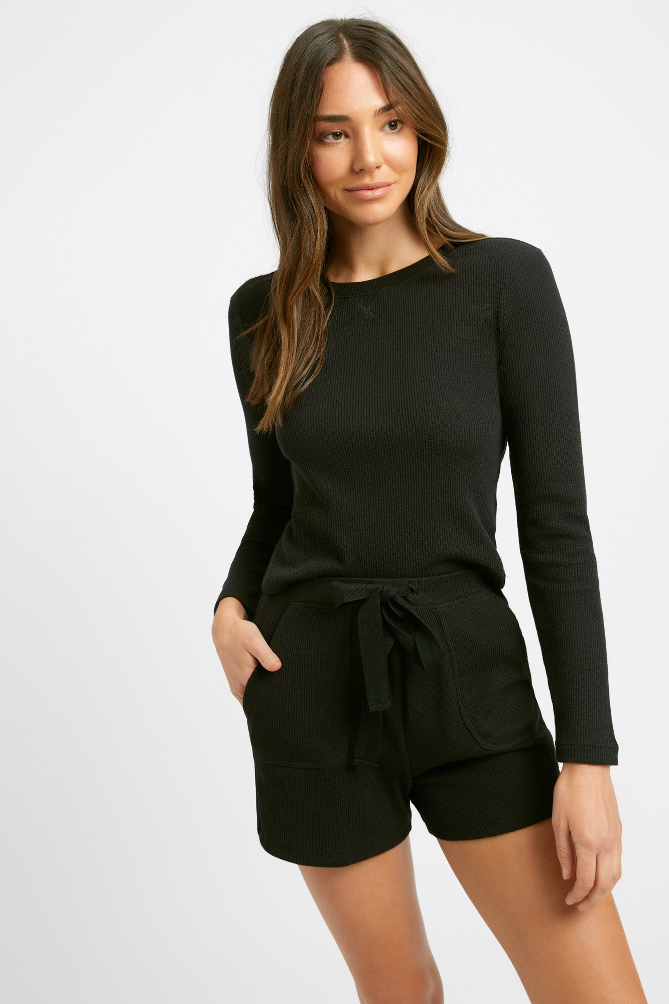 Abbey Slim Long Sleeve Top