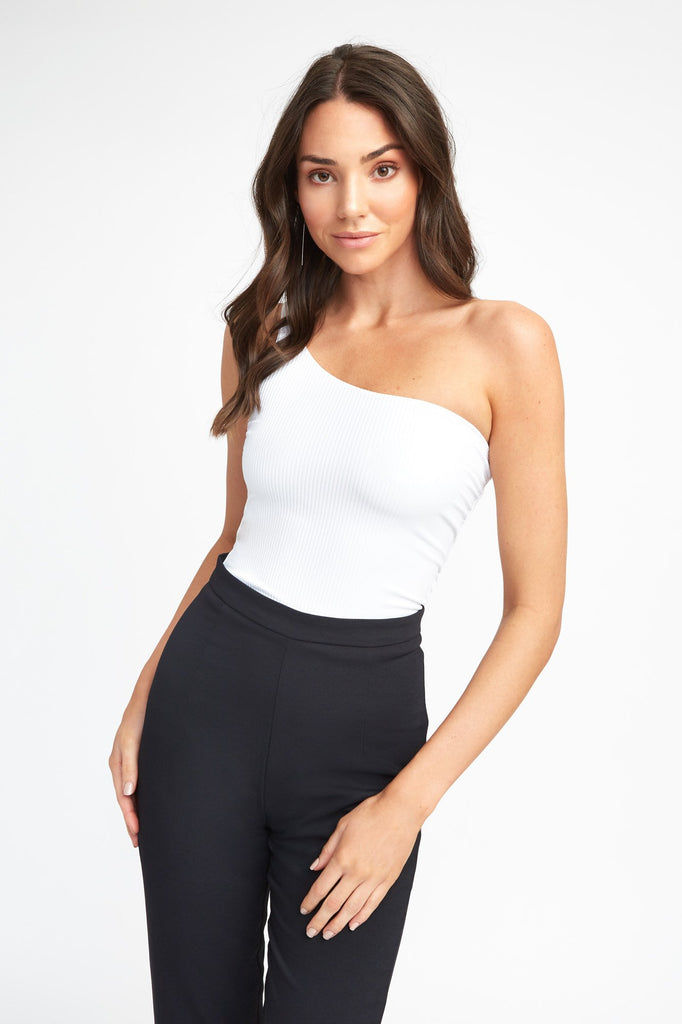Naomi One Shoulder Crop