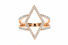 Diamond Shape Frame Ring