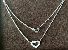 Petite Double Heart Bib Necklace (ships in January) pre-order now