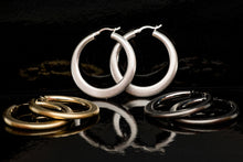 Saturn Hoop Earrings