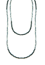 "36"" Mirror Hematite Necklace"