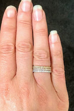 Sterling Silver Eternity Stacker Band