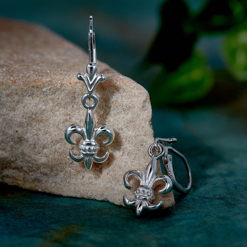 Fleur de lis Earrings (Out of Stock Pre Order for early 2021 Delivery)