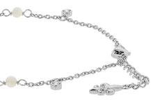MOP Sterling Silver Station Bracelet (pre-order for April 2021)