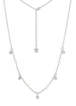 MOP Sterling Silver Necklace