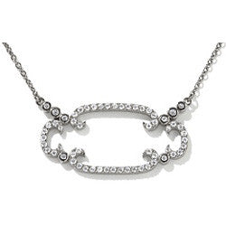 Scrolled Sterling Necklace