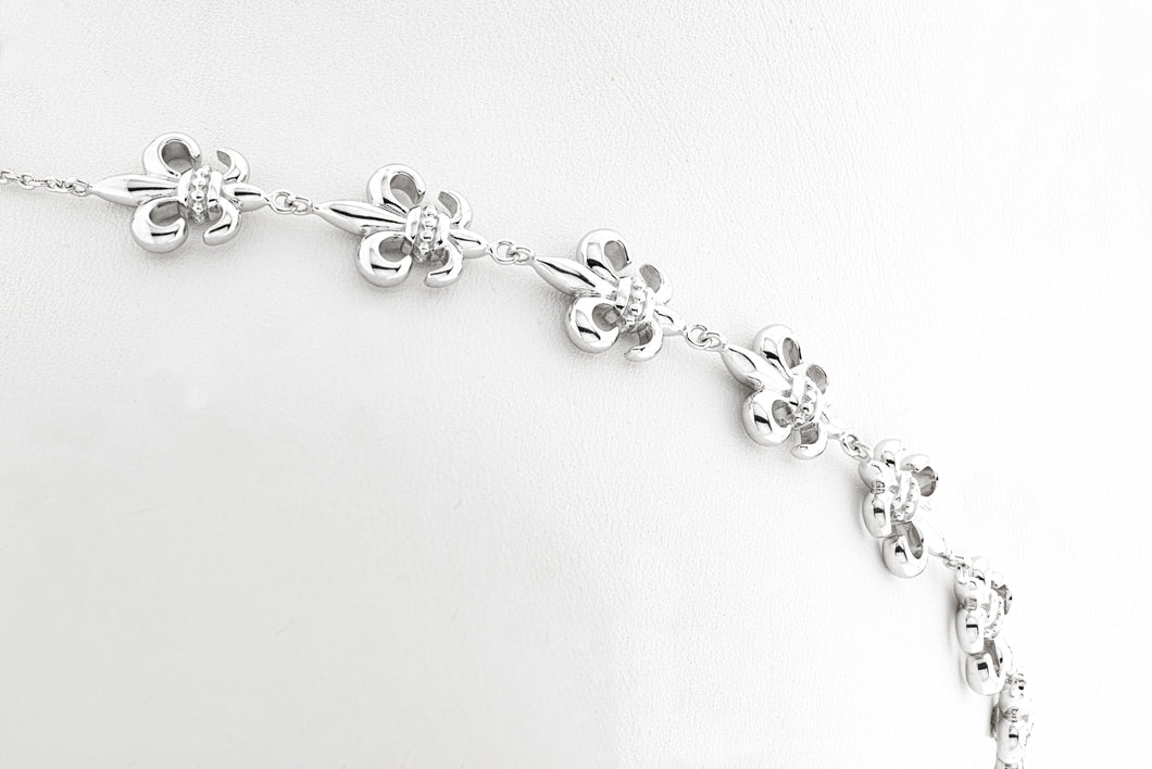 "Fleur de Lis ""Krisi"" Bracelet (delivers late November 2020) pre-order now"